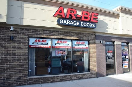 ar-be garage doors inc