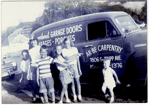 AR-BE Carpentry Truck - The Original AR-BE Garage Doors Business