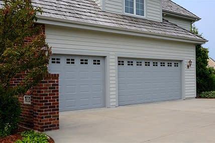 CHIOHD 2283 RAISED PANEL steel or fiberglass garage doors
